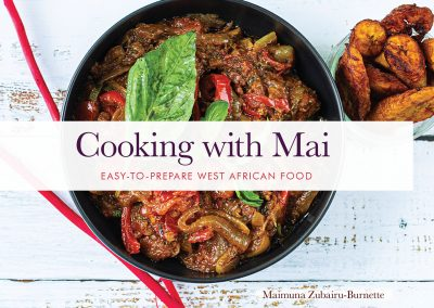 Cooking With Mai cookbook cover